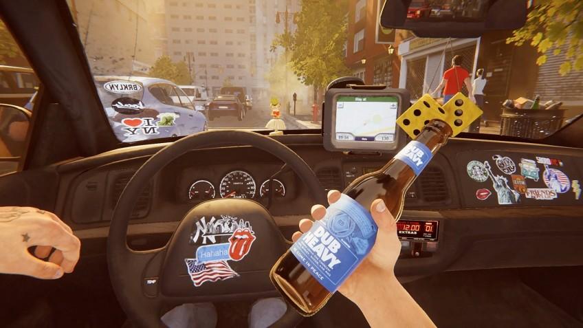 Безумный таксист и его безумные пассажиры: PlayWay анонсировала Taxi Simulator