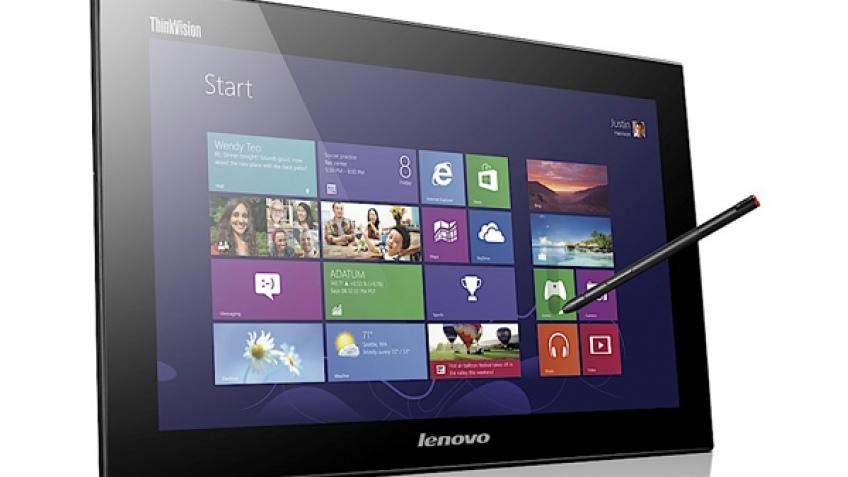Lenovo представила портативный сенсорный монитор ThinkVision LT1423p
