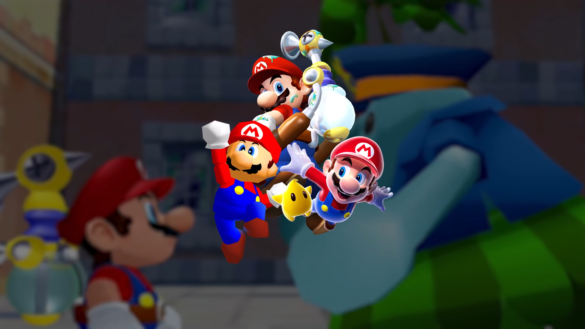 Nintendo представила новый трейлер Super Mario 3D All-Stars
