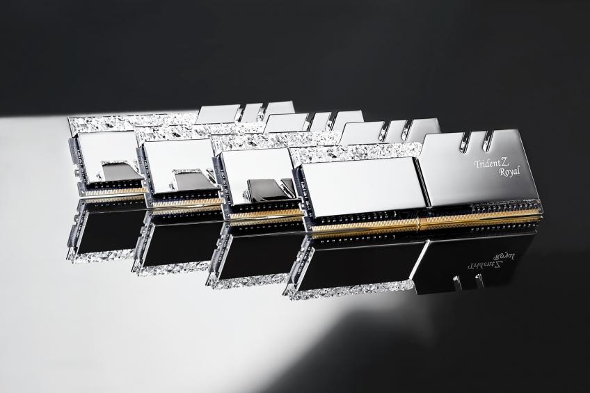 G.Skill представила «золотую» оперативную память с драгоценностями