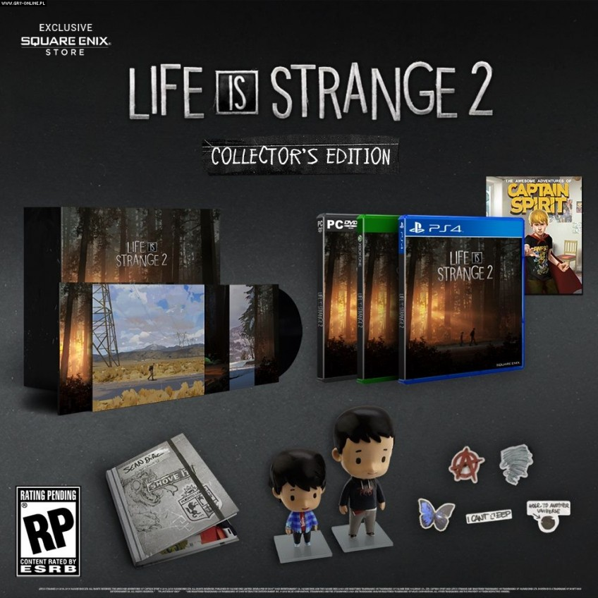 Для Life is Strange2 готовят коробочное и коллекционное издания