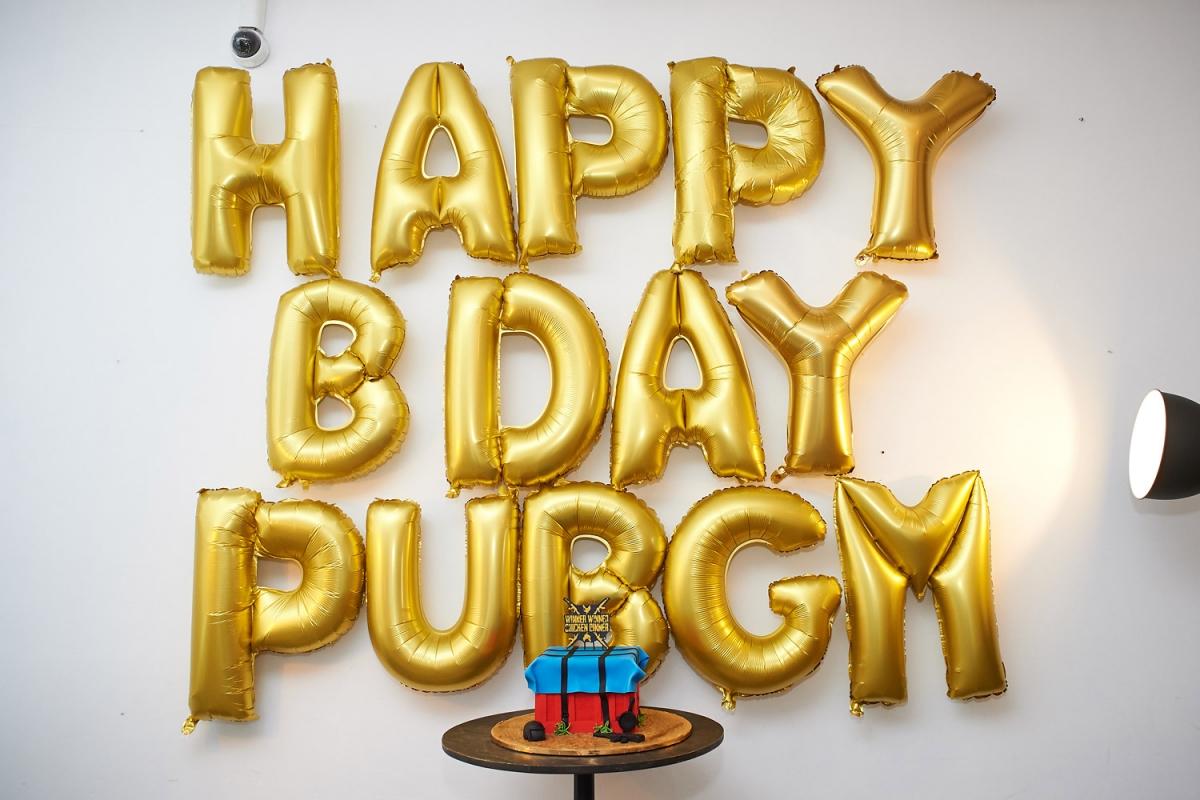 PUBG Mobile отпраздновала день рождения в Москве
