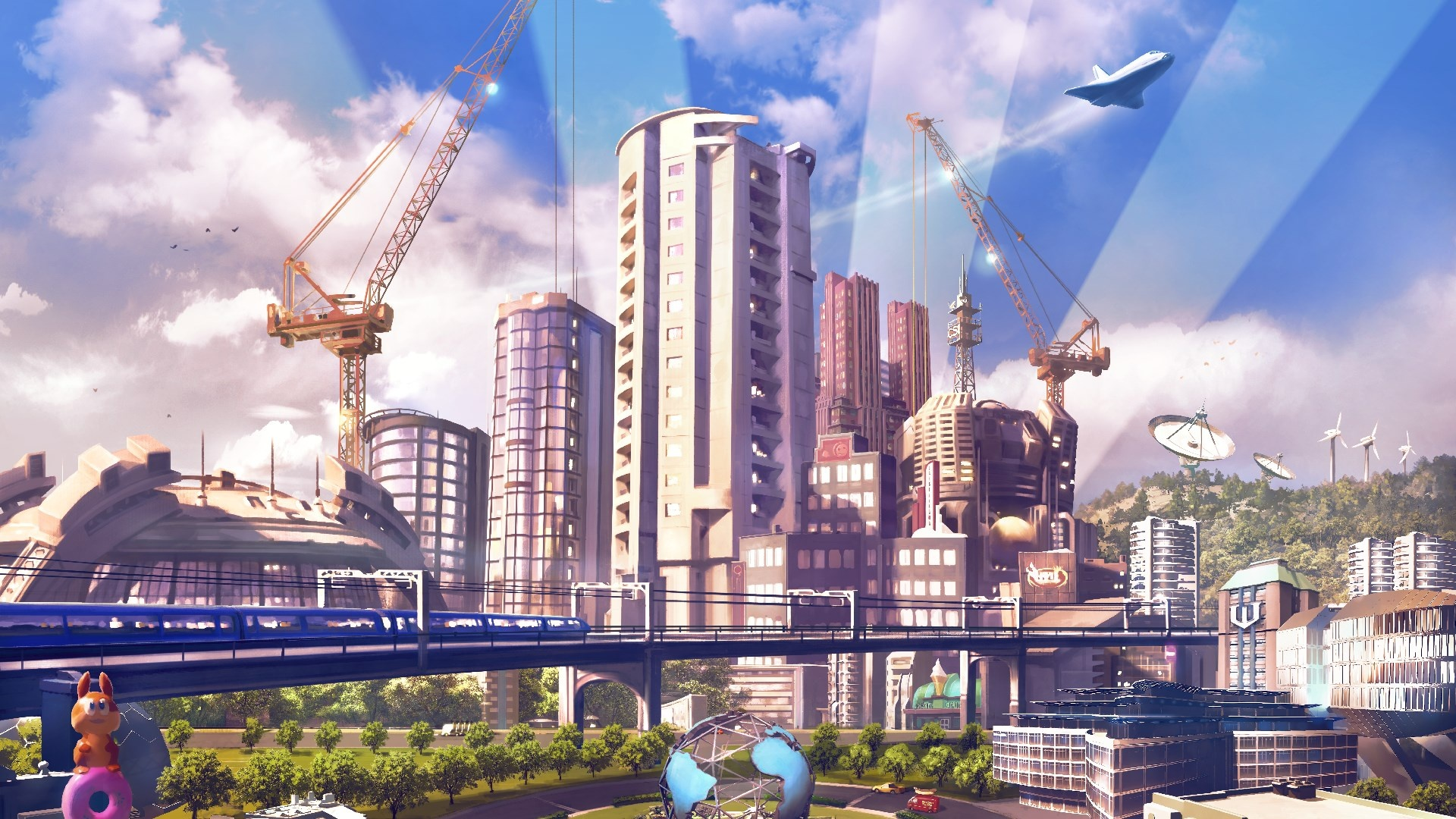 В мае подписчики PS Plus получат Cities: Skylines и Farming Simulator19