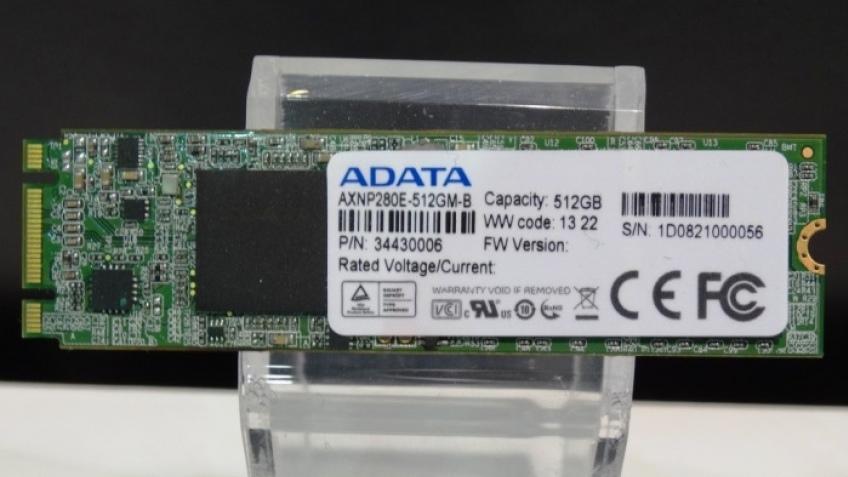 ADATA представила SSD AXNP280E со скоростью 1800 МБ/с