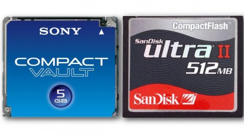 Жесткий диск в формате Compact Flash