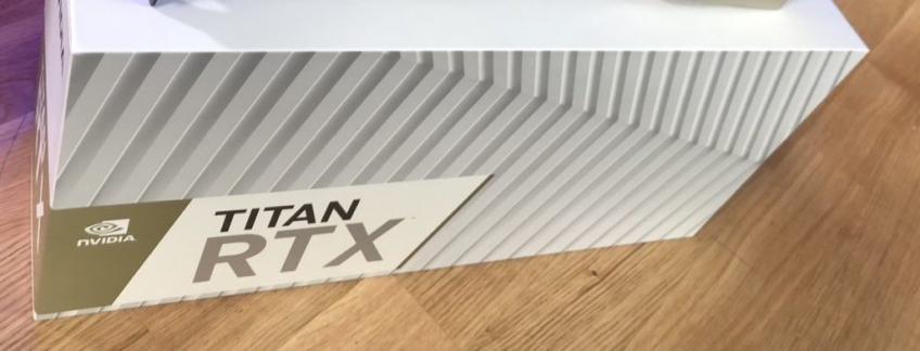 Появились первые сведения о видеокарте NVIDIA TITAN RTX