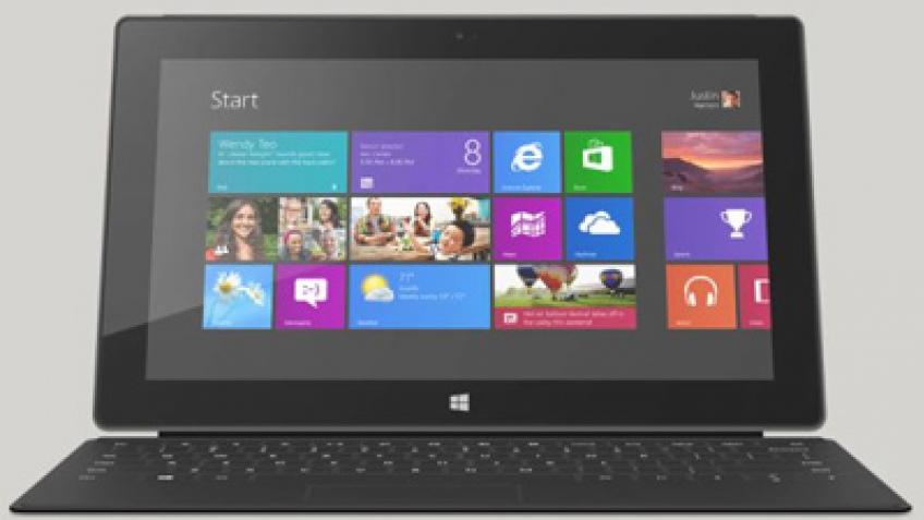 Microsoft Surface Pro имеет лишь 23 ГБ свободного пространства