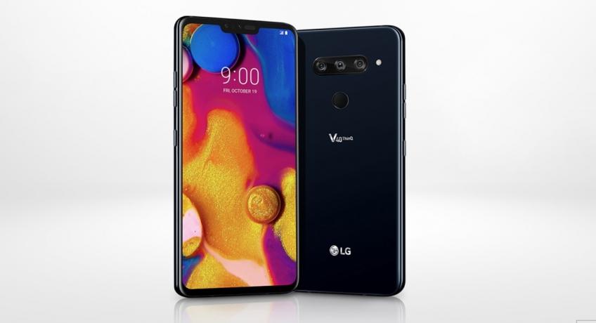 Смартфон LG V40 ThinQ с пятью камерами представлен официально