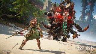 Sony показала14 минут геймплея Horizon Forbidden West — с глайдером!