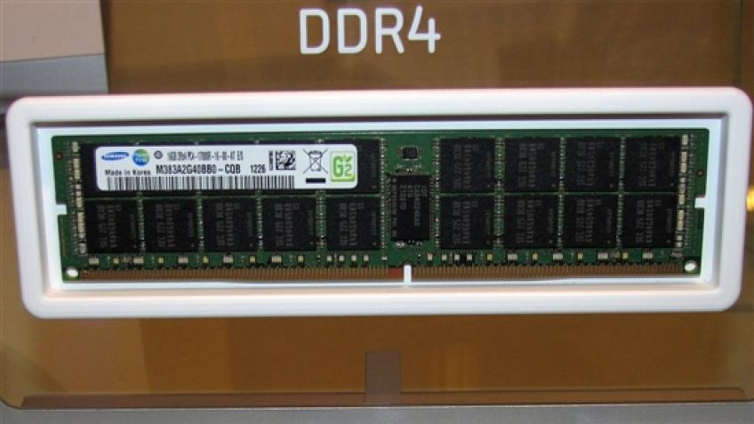 Samsung показала 16 ГБ модули памяти DDR4