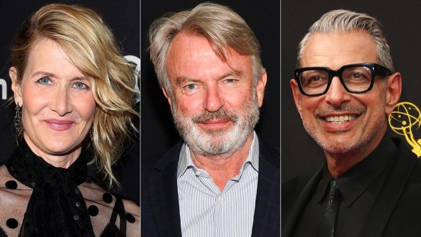 Лора Дерн, Сэм Нилл и Джефф Голдблюм вернутся к своим ролям в «Мире Юрского периода 3»
