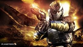 Бета-тест PlanetSide2 на PS4 стартует к концу года