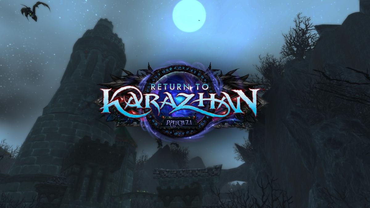World of Warcraft вернется в Каражан25 октября