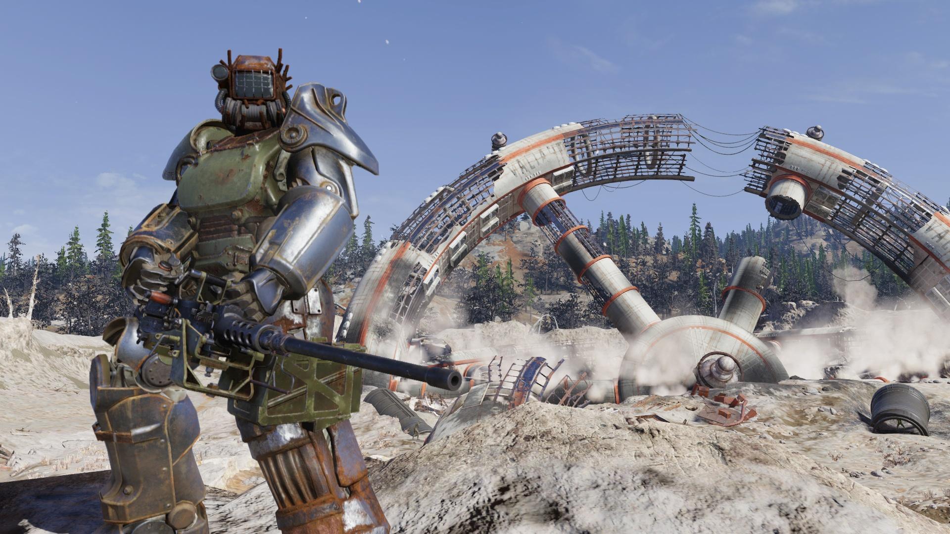 Персонажи Wastelanders могут выселить игроков Fallout76