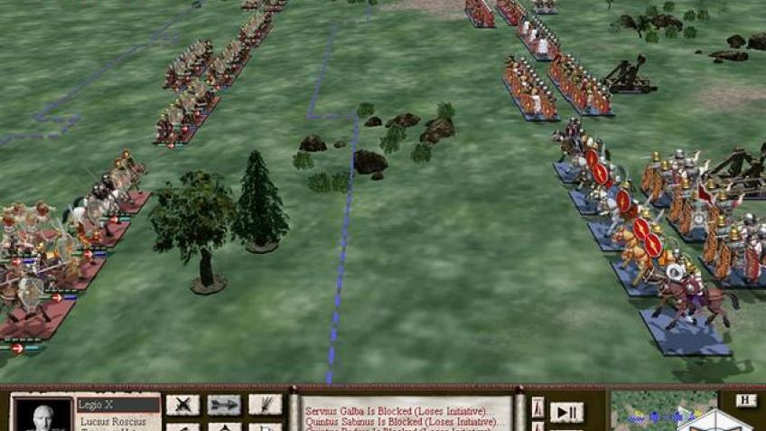 Великий Рим готов к войне