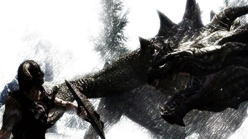 Драконы в Skyrim питаются продюсерами