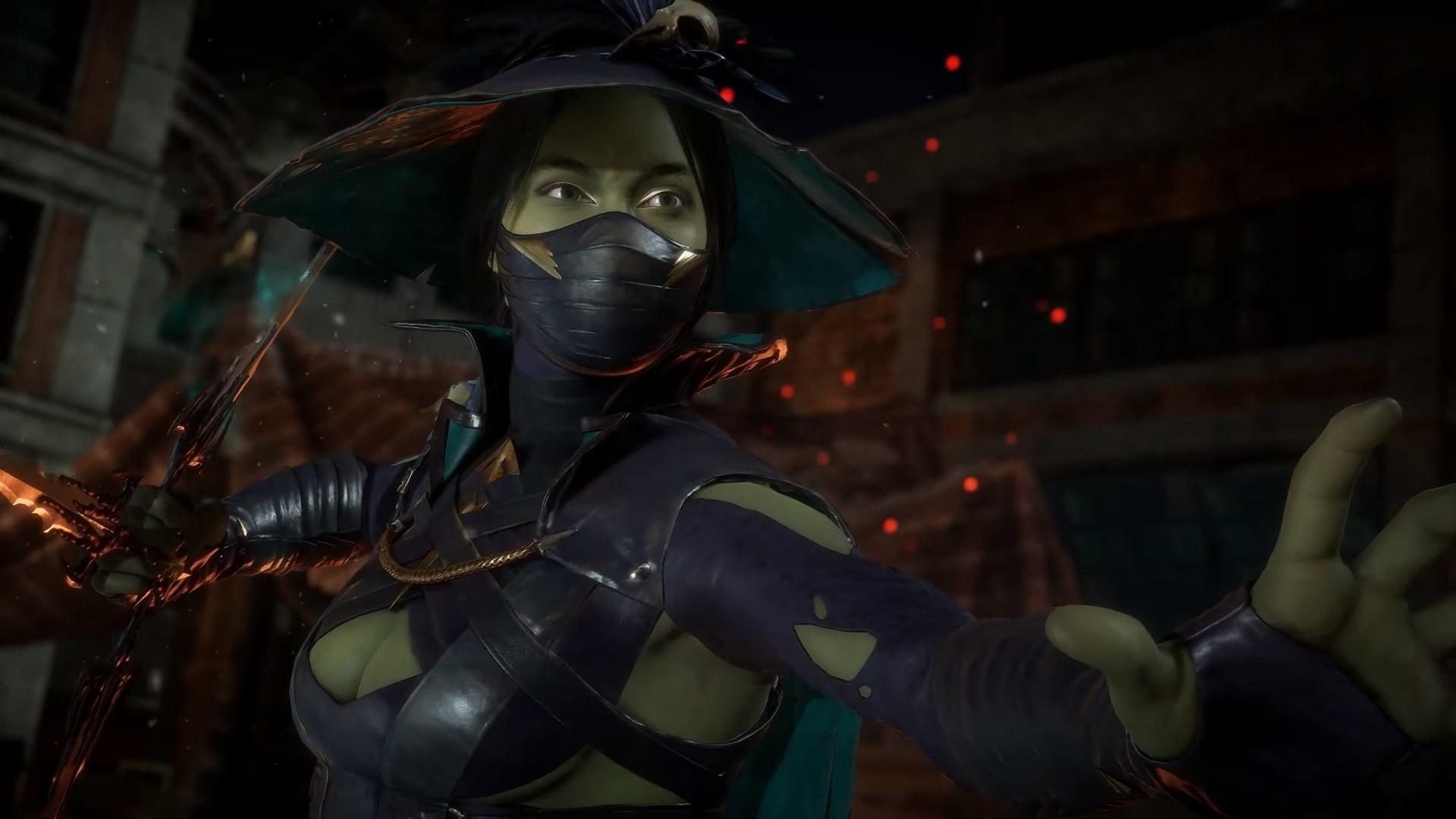 В честь Хэллоуина в Mortal Kombat11 добавили три пугающих облика