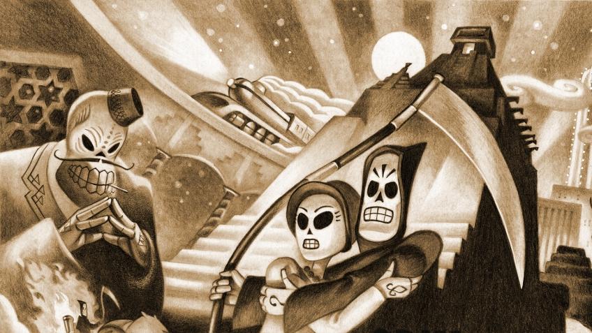 Grim Fandango Remastered можно забрать бесплатно