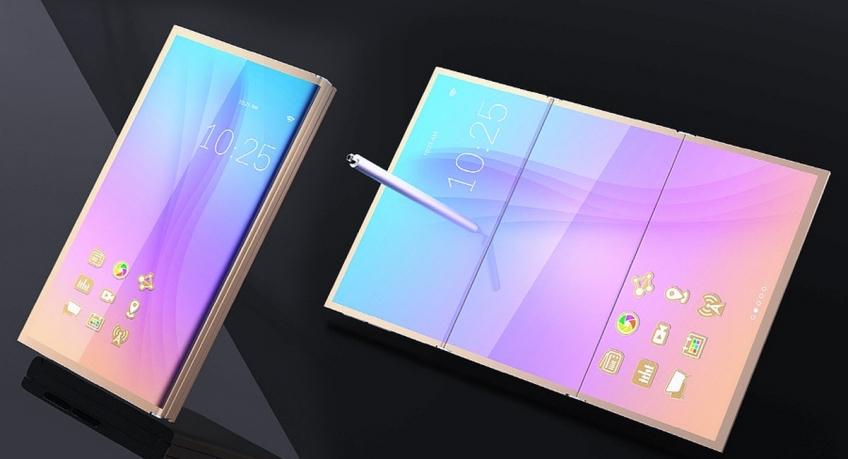 Сгибающийся смартфон Самсунг Galaxy Xпредставят наCES 2019