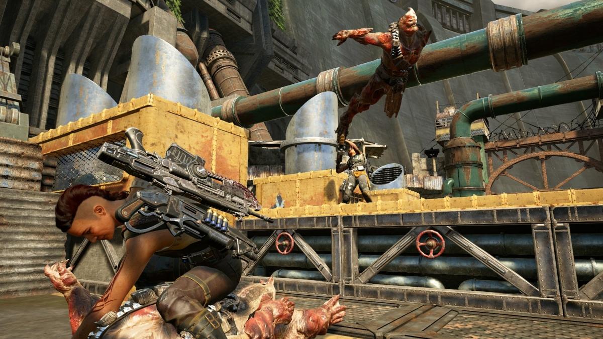 Патч для Gears of War4 покарает игроков, покидающих бой