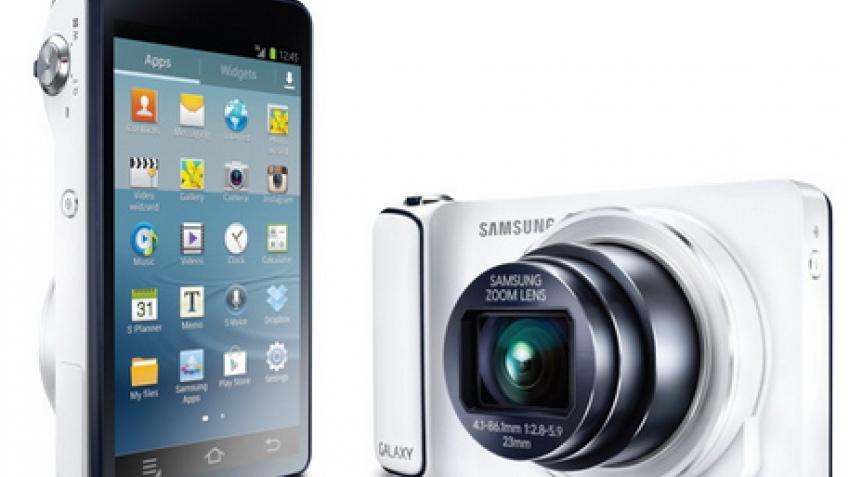 Samsung Galaxy Camera: фотоаппарат на Android 4.1 с поддержкой сетей 3G/4G