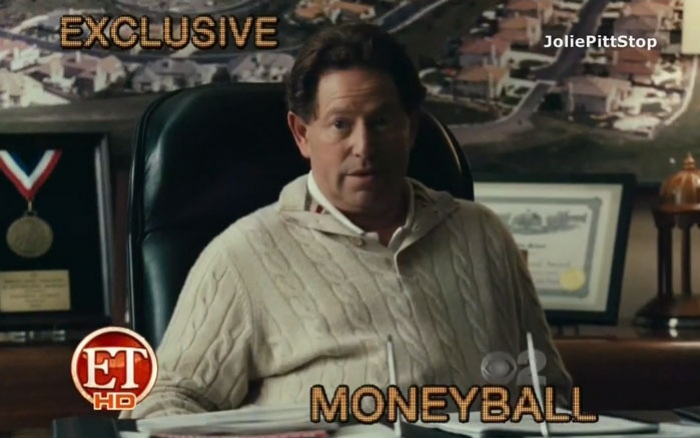Главная звезда фильма Moneyball