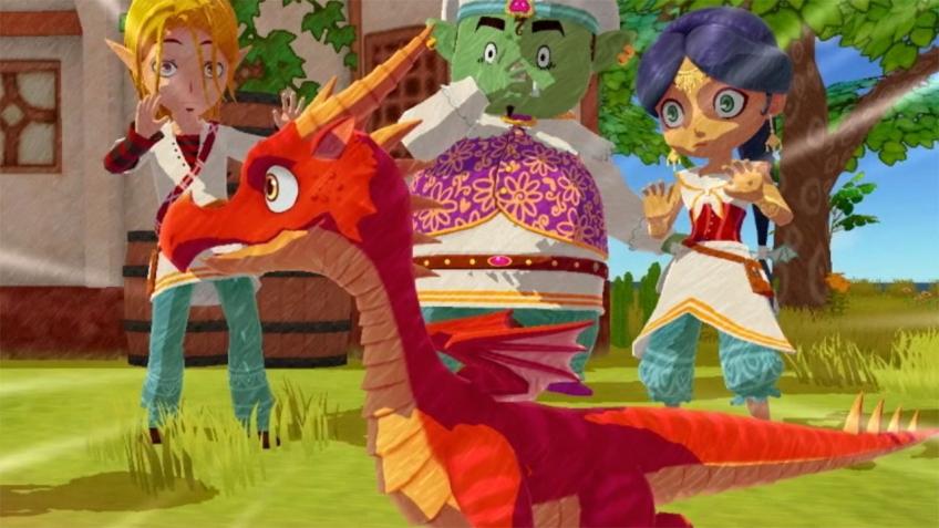 В первом трейлере Little Dragons Café показали воспитание дракона