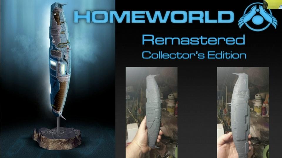 Gearbox подарит поклонникам Homeworld космический корабль