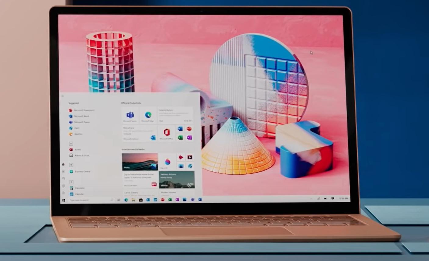 Microsoft может изменить дизайн Windows 10
