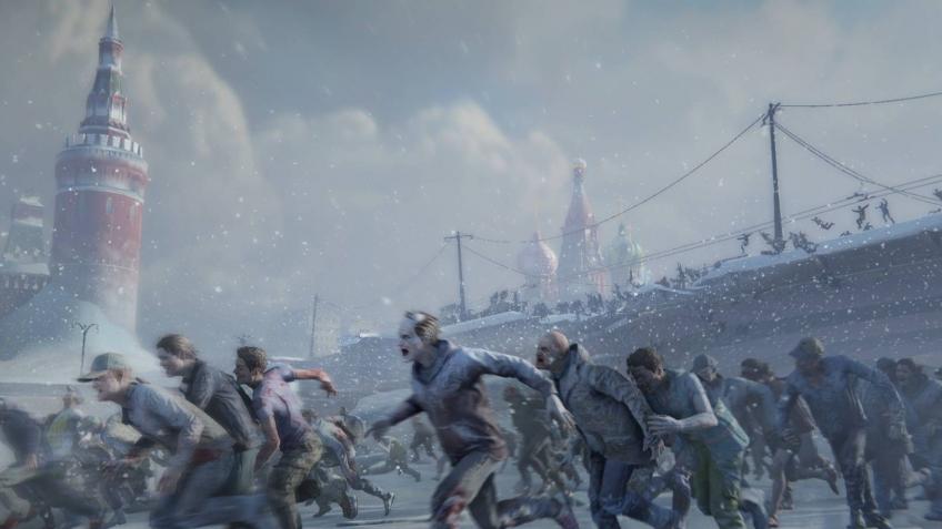 В релизном трейлере World War Z снялись сотни зомби