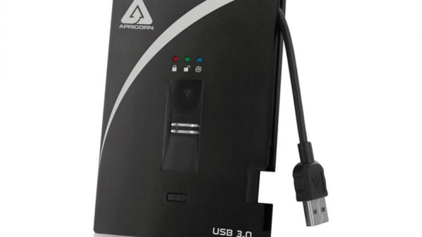 Apricorn Aegis Bio 3.0: накопители с биометрическим датчиком