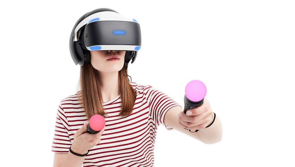 Sony показала работу системы для отслеживания пальцев в виртуальной реальности