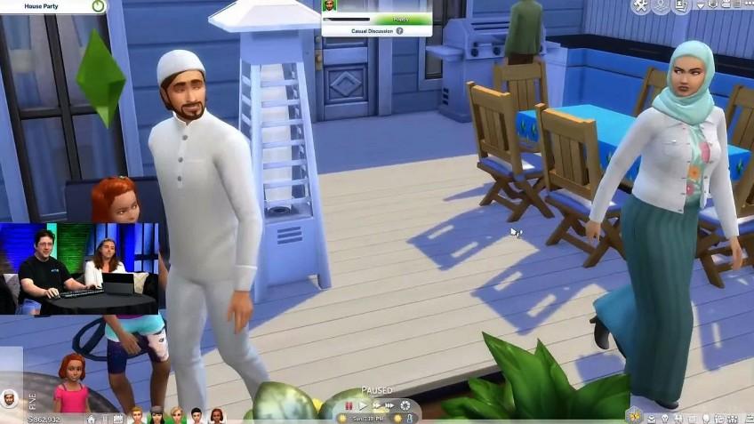 Обитатели The Sims4 смогут принять ислам и согнуть лестницу