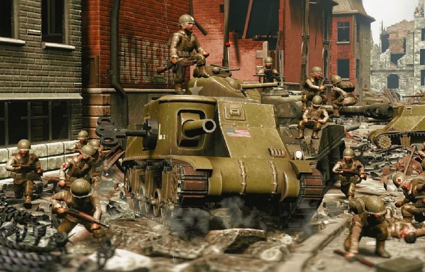 Игрушечные солдатики возвращаются: анонсирована Toy Soldiers 2: Finest Hour