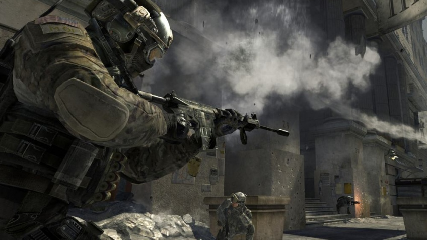 Злоумышленники украли грузовик с дисками Modern Warfare3