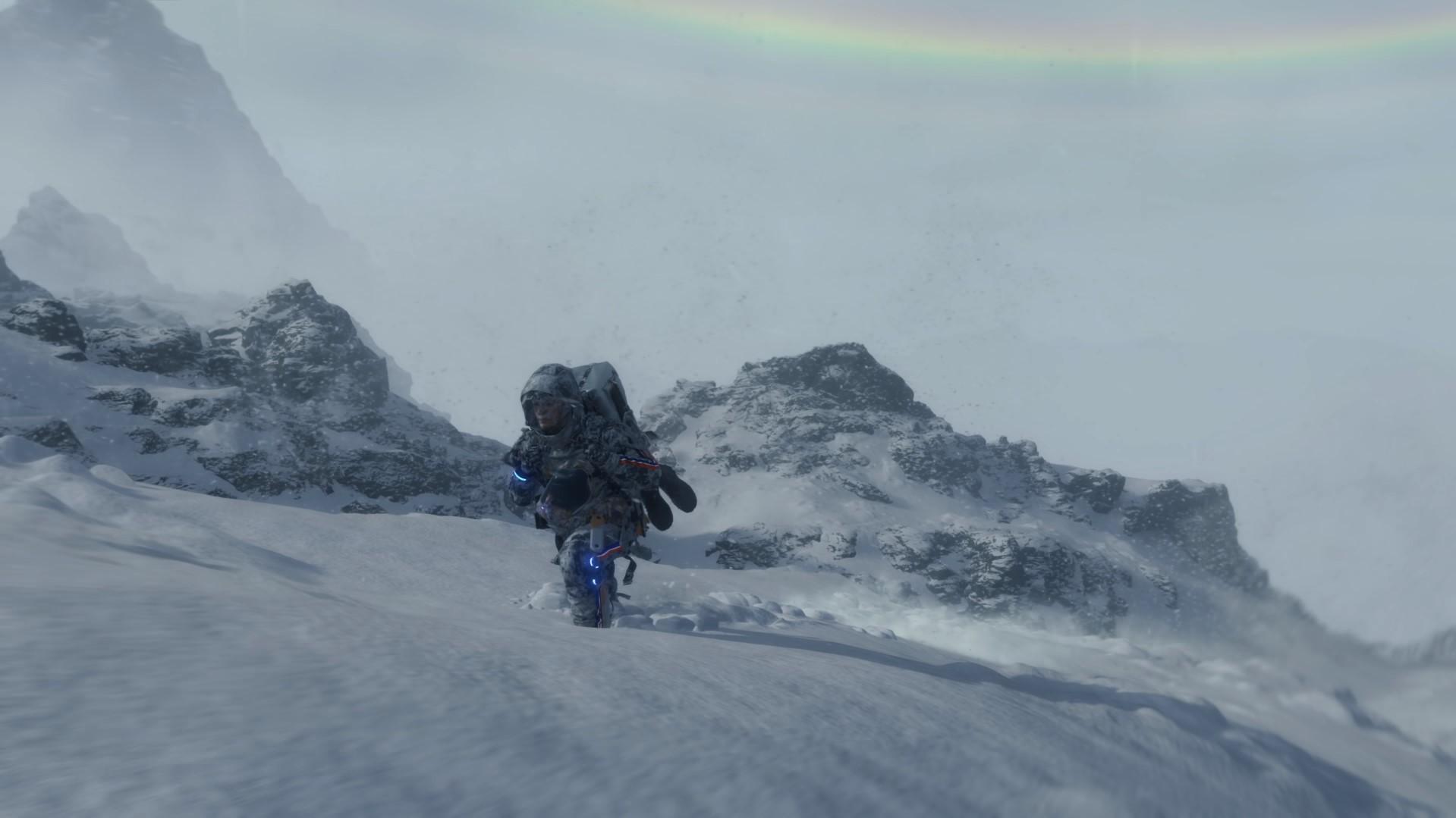 Мир Death Stranding не безграничен, но на гору из трейлера можно забраться