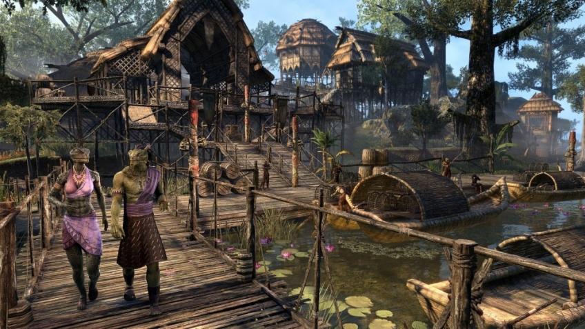 Игроков The Elder Scrolls Online отправили в болото