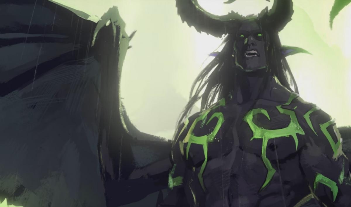 В третьей короткометражке Blizzard рассказали историю Иллидана