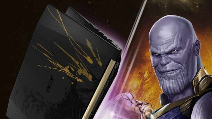 Acer выпустила ноутбуки по мотивам «Мстителей: Война бесконечности»