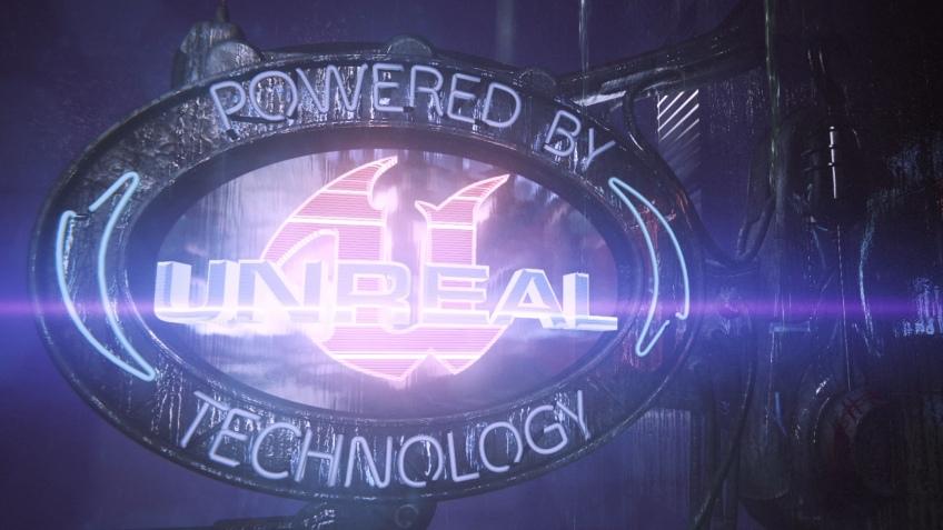 Первые кадры Unreal Engine4
