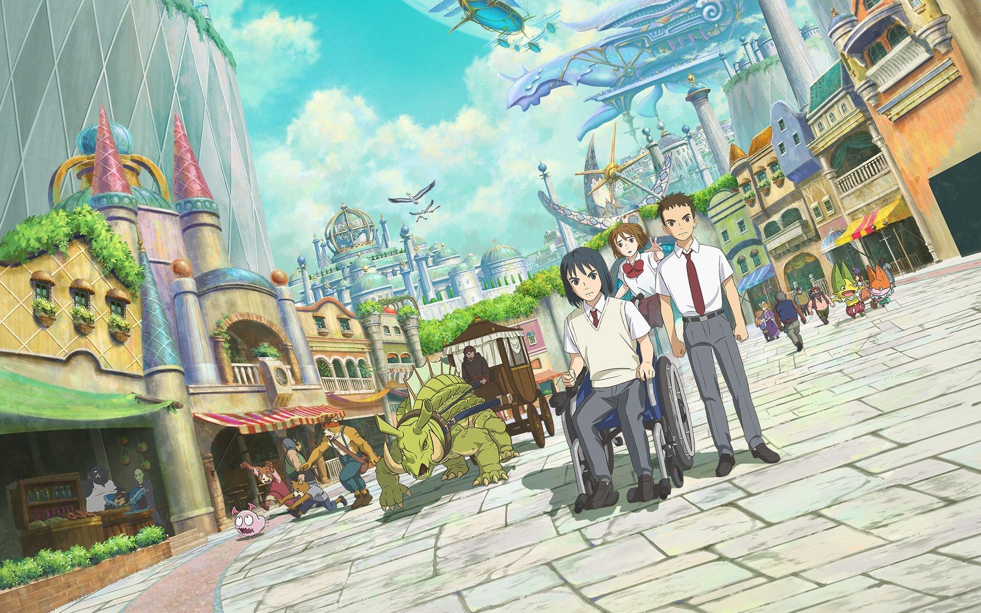 Ni no Kuni: новый трейлер и первый постер полнометражного мультфильма