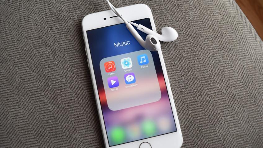 iPhone слишком быстро разряжаются из-за приложения «Музыка»