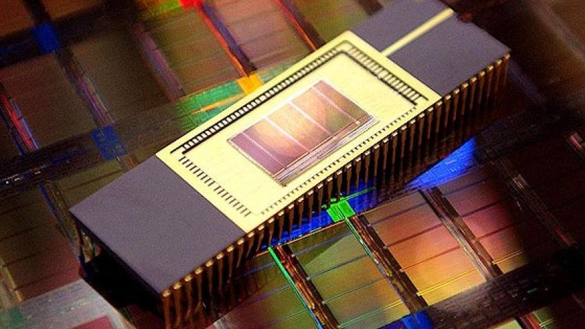 Samsung производит 50-нм память