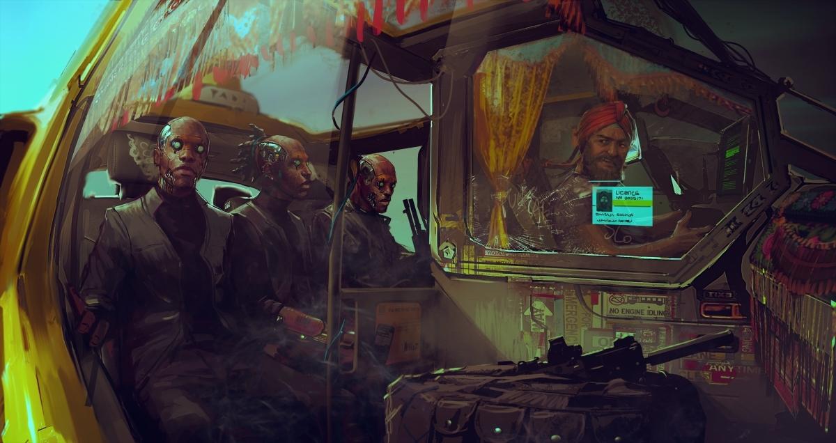 Авторы Cyberpunk 2077 запустили таинственную трансляцию