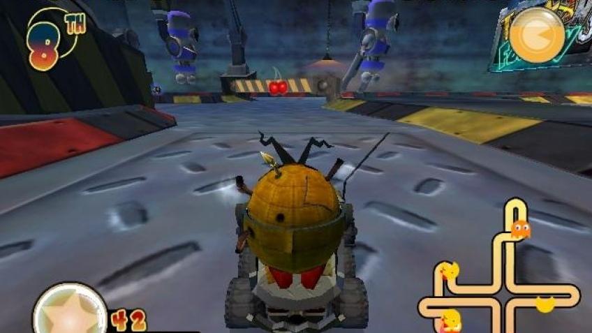 Pac-Man World Rally ушел на 'золото'