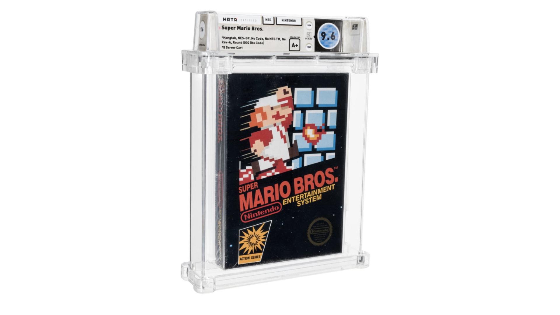 Запечатанную копию Super Mario Bros. продали за рекордные 660 тысяч долларов