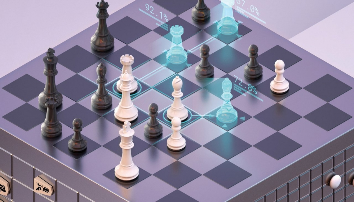 Искусственный интеллект самостоятельно научился играть в шахматы