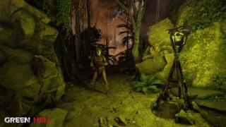 Авторы Green Hell показали, как играть в VR-версию