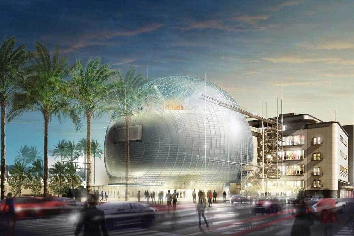 Музей кино Американской киноакадемии откроют в конце 2020 года