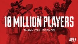 За72 часа число игроков Apex Legends уже превысило 10 млн